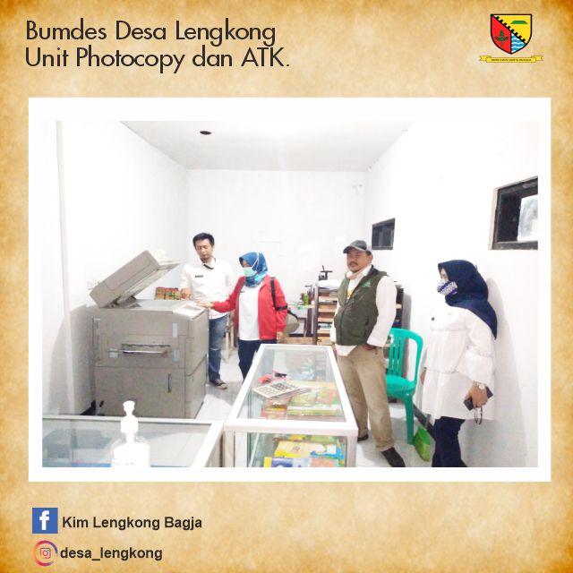 Bumdes Desa Lengkong Unut ATK dan Photocopy